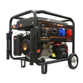 Бензиновый генератор FoxWeld Expert G9500-3 HP, 8 кВт, 3х220 В/2х16,32 А, 12 В, электропуск   730574