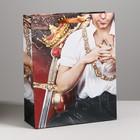 Пакет ламинированный вертикальный «Король», MS 18 × 23 × 10 см
