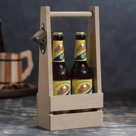 {{photo.Alt    photo.Description    'Ящик для пива 15,5х9х33см см под 2 бутылки, хакки'}}