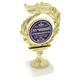 """Кубок с пламенем """"Лучший руководитель"""""""
