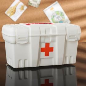 Аптечка «Скорая помощь», малая, цвет белый