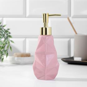 Дозатор для мыла «Розовый», 250 мл