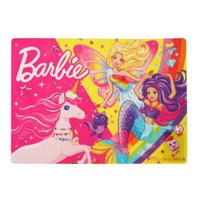 "Накладка на стол А4+, 34x24 см ""Барби"""