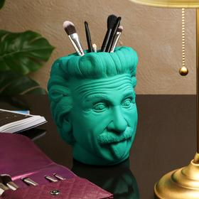 "Органайзер-кашпо ""Эйнштейн"", зелёный, 21 см"