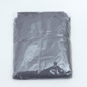 Сетка антимоскитная на окна, 150×130 см, крепление на липучку, цвет серый
