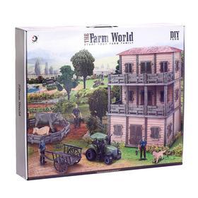 Набор «Фермерское хозяйство», с двухэтажным домом