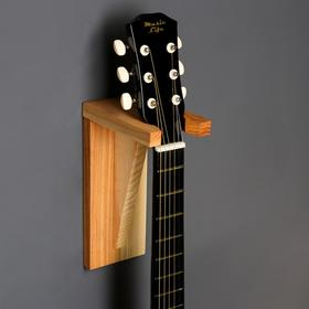 """Держатель для гитар """"Угол""""  настенный, массив ясеня"""