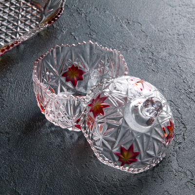 "Набор конфетниц 250 мл ""Бартоло"", 2 шт, на подставке"