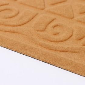Коврик придверный без окантовки «Welcome. Вензеля», 38×59 см, цвет МИКС - фото 4656924