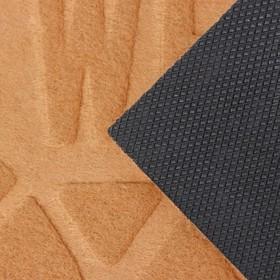 Коврик придверный без окантовки «Welcome. Вензеля», 38×59 см, цвет МИКС - фото 6389576