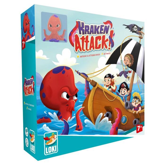 Настольная игра «Атака Кракена»