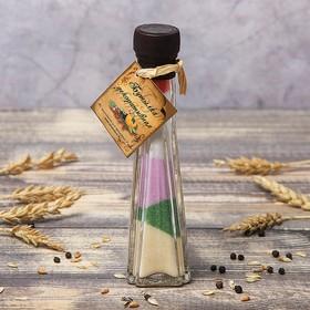 Бутылка декоративная 'Пирамида' h=16,5 см Ош