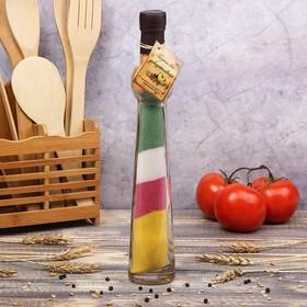 Бутылка декоративная 'Шар' h=30 см Ош