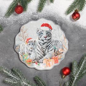 {{photo.Alt || photo.Description || 'Подставка под горячее Доляна «Бенгальский тигр», 18×17,4 см'}}