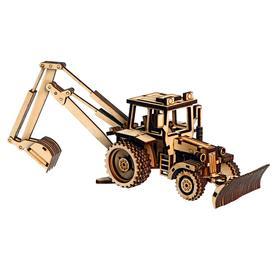 Cборная модель «Трактор экскаватор»