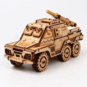 Сборная модель «БТР с миномётом»