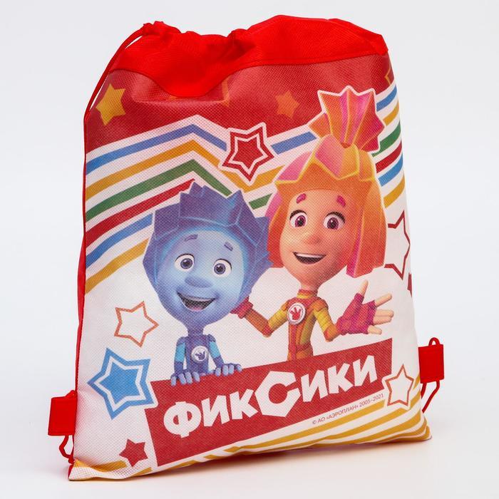 """Текстильный рюкзак """"Симка и Нолик"""", Фиксики"""