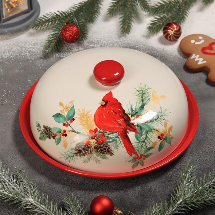 Блинница Доляна «Красный кардинал», 23×9,7 см