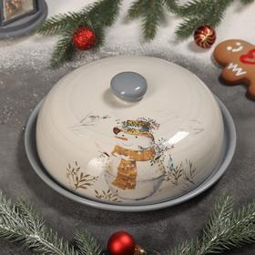 {{photo.Alt    photo.Description    'Блинница Доляна «Рождественский снеговик», 23×9,7 см'}}