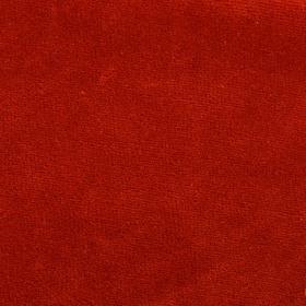 Велюр цвет терракотовый, ширина 180 см