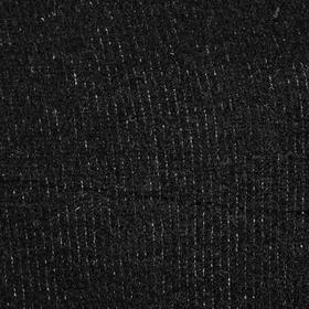 Велюр цвет черный, ширина 180 см
