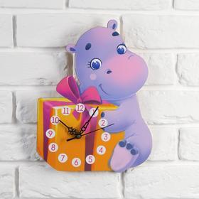"Часы, мод. Д-004 ""Бегемотик"", 23 х 30 см"