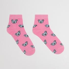 Носки детские «Коала» цвет розовый, размер 16-18