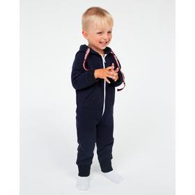 Комбинезон детский НАЧЁС, цвет синий, рост 80 см
