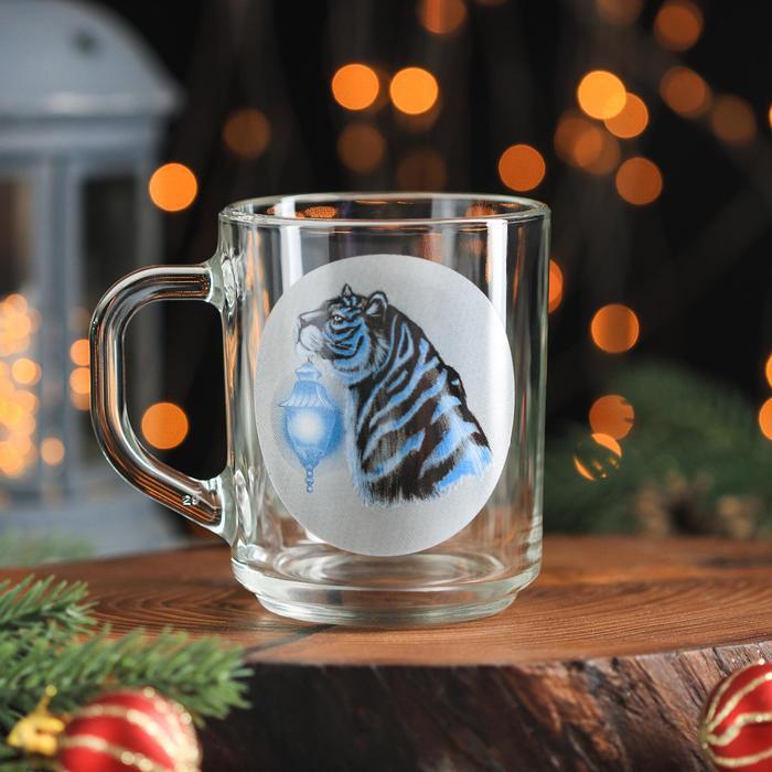 Кружка Доляна «Тигр. Свет», 200 мл