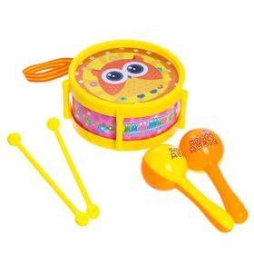 Набор музыкальных инструментов «Мелодия», 5 предметов