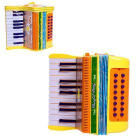 Игрушка музыкальная «Аккордеон», цвета МИКС