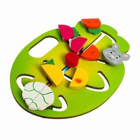 Игровой набор «Накорми зайку» с набором карточек