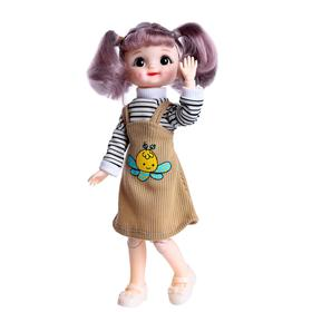 Кукла шарнирная «Мила», МИКС