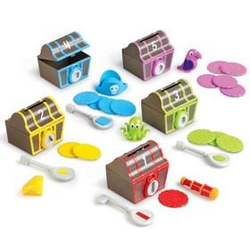 Развивающая игрушка «Замки и ключи. Пиратское сокровище», 30 элементов