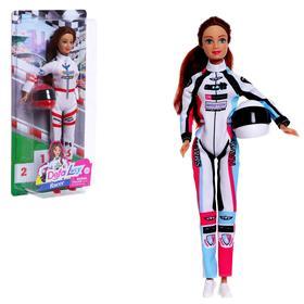Кукла-модель «Гонщица» с аксессуарами, МИКС
