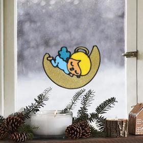 Наклейка на стекло «Ангел», 10 х 10 см