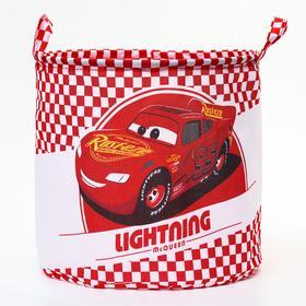 """Корзина для игрушек """"Lightning"""" Тачки , 33*33*31 см"""