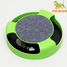 """Игровой комплекс """"Пижон"""" с подвижной мышкой, зелёный"""