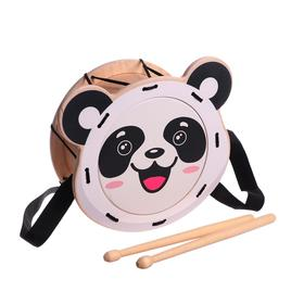 "Игрушка детская барабан ""Панда""  11233"