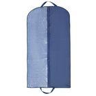 Чехол для одежды 60×140 см, спанбонд, цвет синий