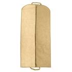 Чехол для одежды 60×140 см, спанбонд, цвет бежевый