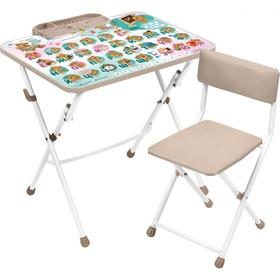 Набор мебели с забавными медвежатами, мягкий стул, 3-7лет