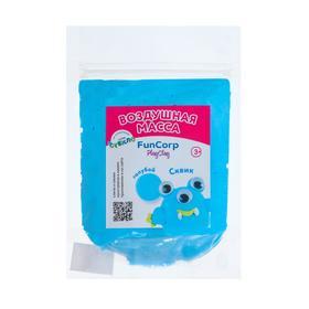Воздушная масса для лепки FunCorp Playclay, голубой, 30 г