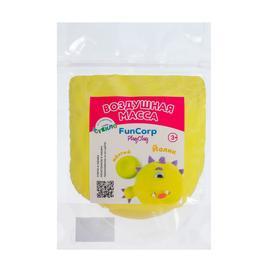 Воздушная масса для лепки FunCorp Playclay, жёлтый, 30 г