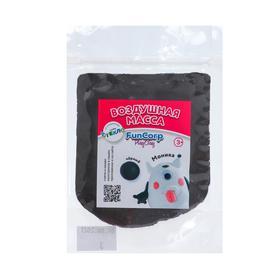 Воздушная масса для лепки FunCorp Playclay, чёрный, 30 г