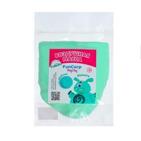 Воздушная масса для лепки FunCorp Playclay, зелёный, 30 г
