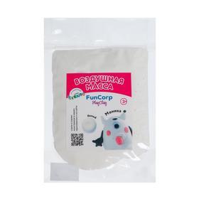 Воздушная масса для лепки FunCorp Playclay, белый, 30 г