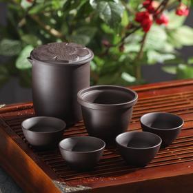 {{photo.Alt    photo.Description    'Набор для чайной церемонии «Шоколад», 7 предметов: чайник 260 мл, 4 чашки 40 мл, сито, салфетка'}}