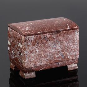"Ларец ""Сундучок"", 12х80х6,5 см, натуральный камень, креноид"