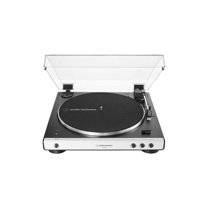Проигрыватель виниловых дисков AUDIO-TECHNICA AT-LP60XBTWH, Вт 5.0, Jack 3.5, RCA, белый - фото 50953306